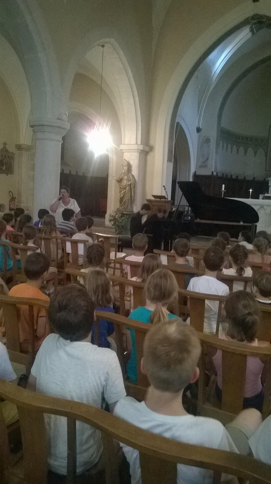 Concert de musique classique pour les CE2, CM1 et CM2