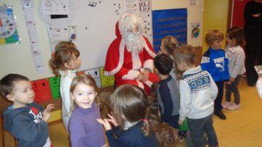 Le Père Noël est venu nous voir !