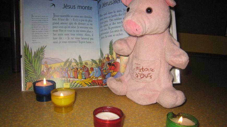 Le Carême et Pâques avec la classe des PS/MS