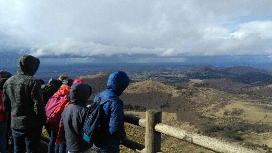 Classe verte en Auvergne : journée n°1