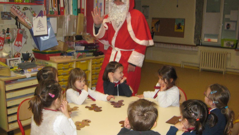 Le Père Noël en classe de PS/MS