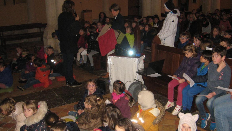 Jeudi 14 mars : Temps fort à l'église