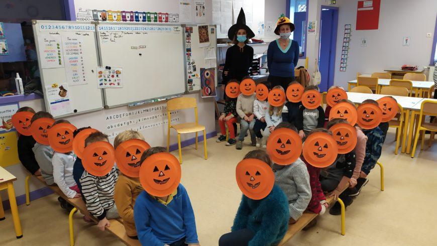 Citrouilles, sorcières et Halloween en MS/GS